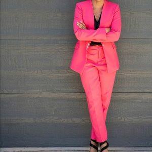 Zara Hot Pink Suit